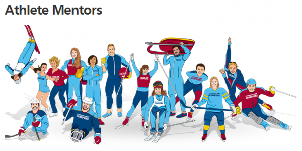 Classroom Champions Athlete Mentors include National Champion and 2-time Olympian Freestyle Skier Emily Cook. - Image Source: Forbes post