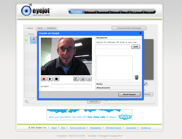 eyejot video email