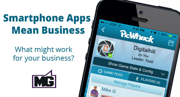 smartphone apps mean business