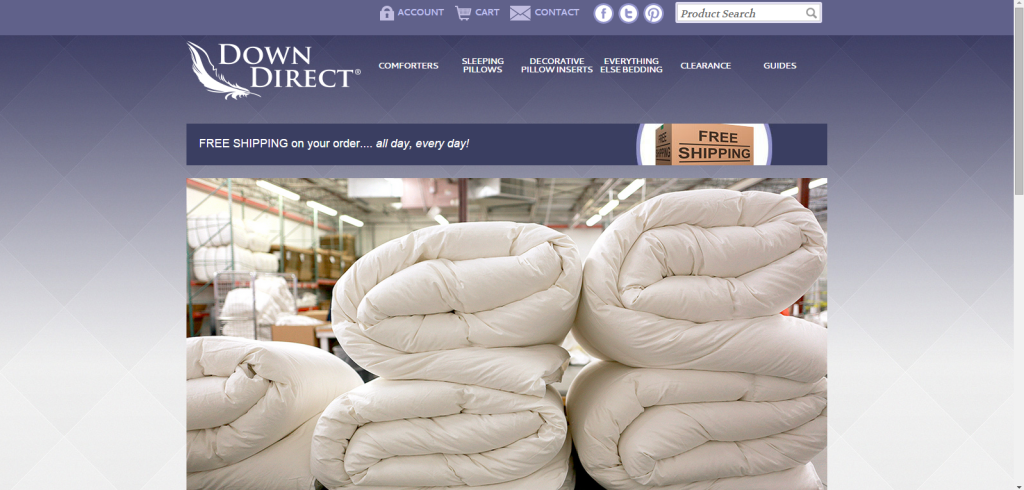 E-Commerce Website Launch for Down Direct