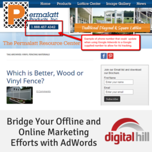 Bridge Your Offline and Online Marketing Efforts with AdWords