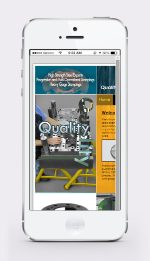 Old Mobile view for Metalstamp, Inc.
