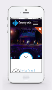 New website Launch - Mobile View
