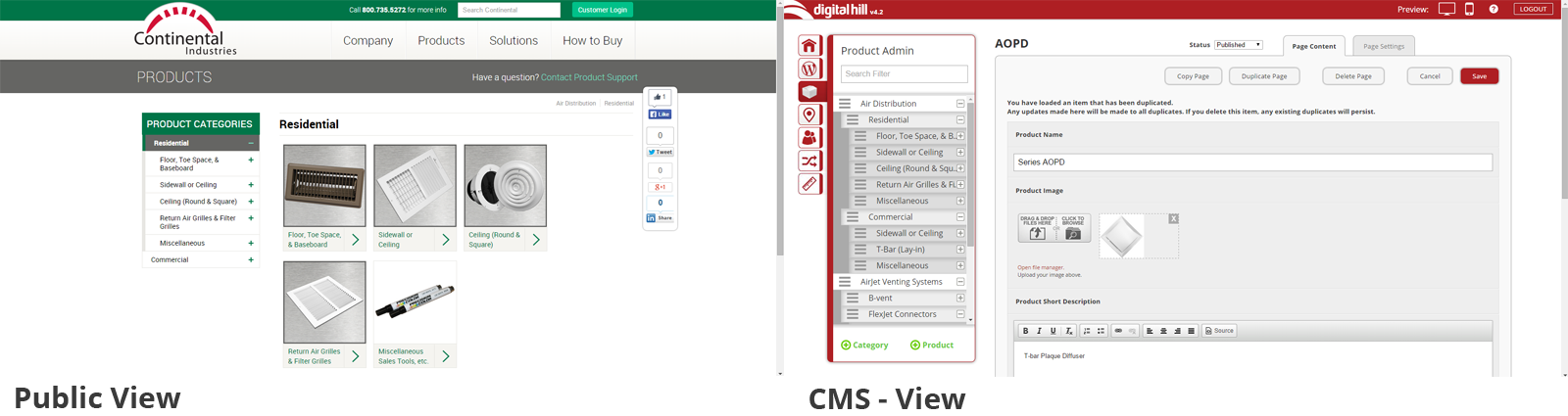 Products-cms-view