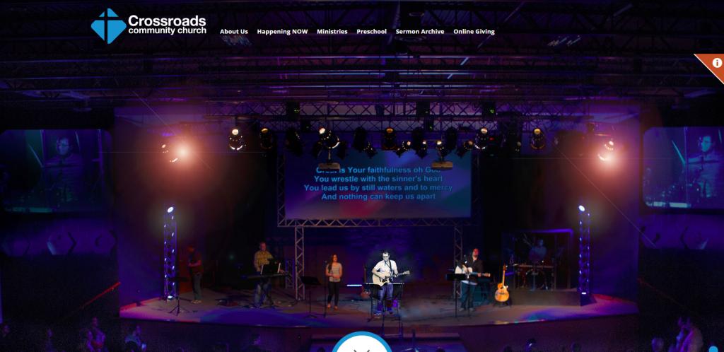 New Website Launch - Crossroads Chruch