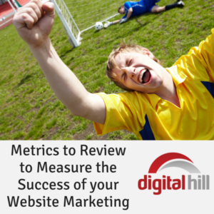 Metrics to Review to Measure the Success of your Website Marketing