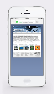 Clean, Readable Responsive Website Redesign for Century Chemicals