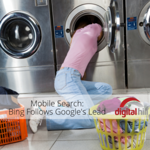 Mobile Search- Bing Follows Google's Lead