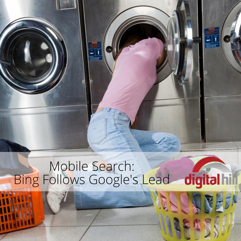 Mobile Search- Bing Follows Google's Lead