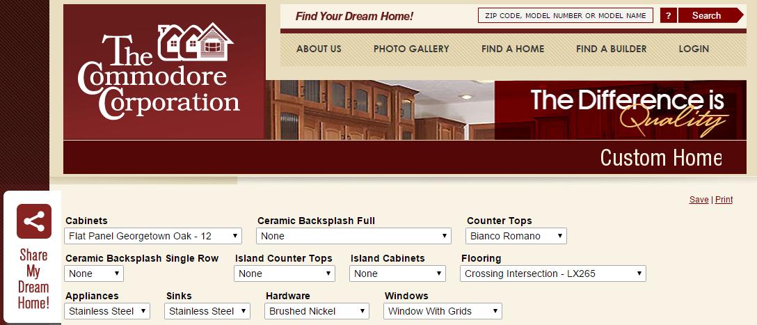 Home Customizer Web Tool: A Custom Website Software