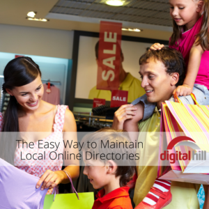 The Easy Way to Maintain Local Online Directories