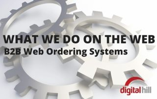 What we do on the web web ordering systems 600