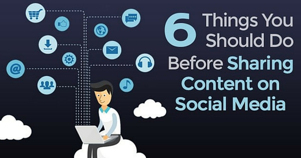 What You Need To Do Before You Share On Social Media