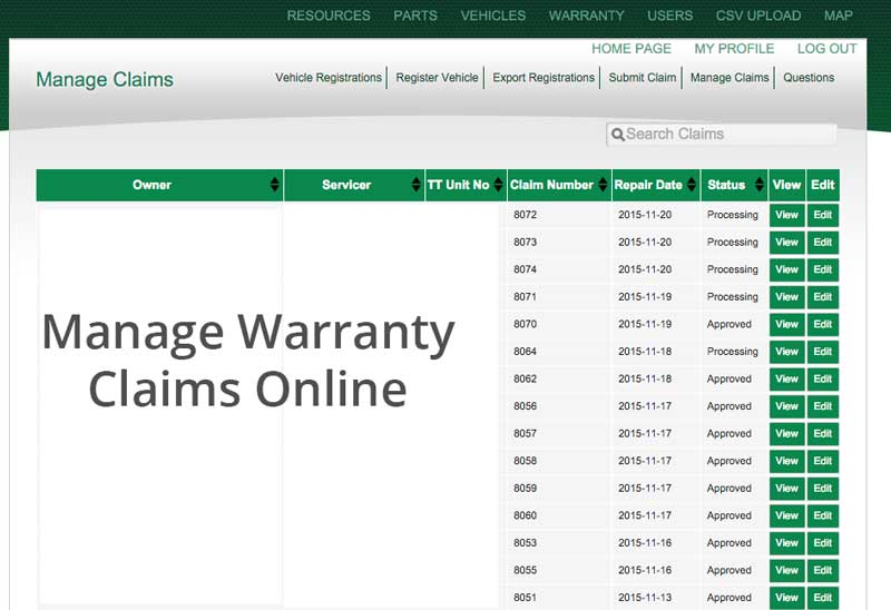 warranty-claim-management