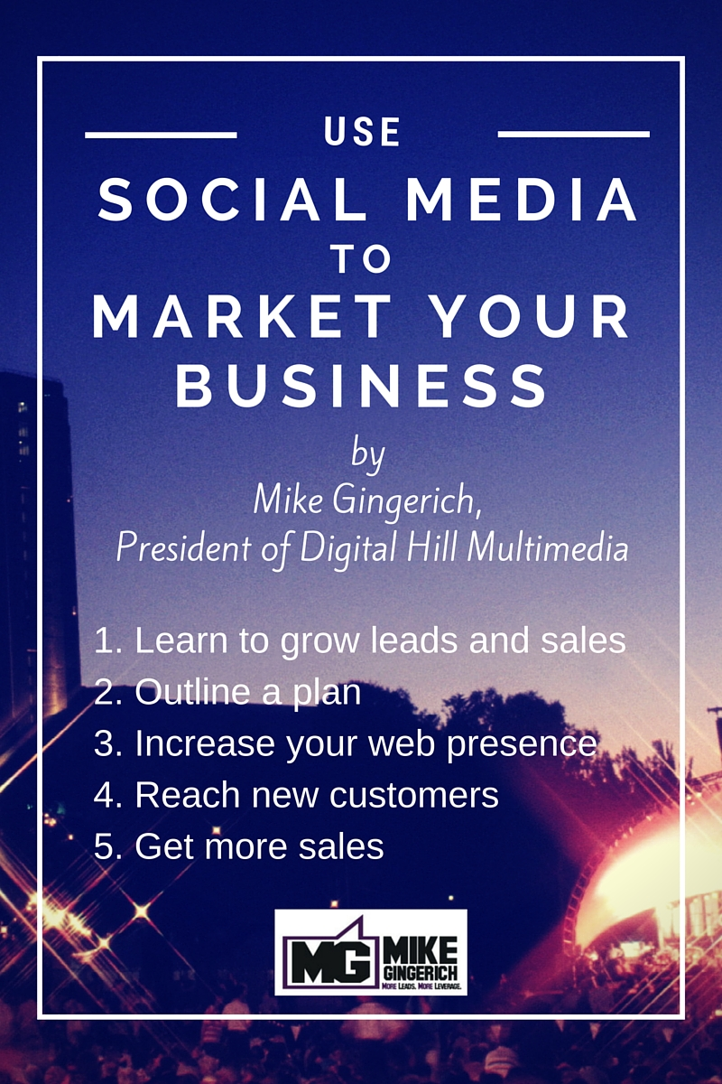 Use Social Media to Market your Business