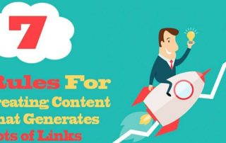 rules for creating content that generates lots of links