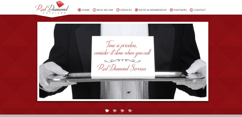 Meet Red Diamond Services New Website Launch