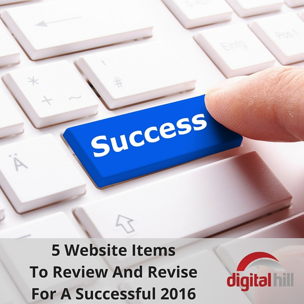 5 Website Items To Review And Revise For A Successful 2016