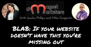BLAB- If your website doesn't have this you're missing out