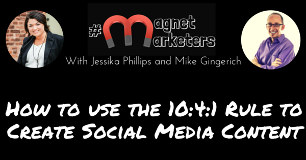 How to use the 10-4-1 Rule to Create Social Media Content