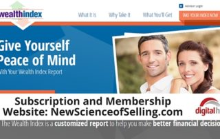 Subscription and Membership Website- NewScienceofSelling.com 600