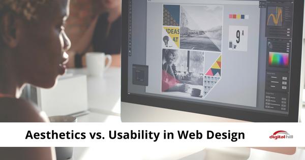 Aesthetics vs. Usability in Web Design