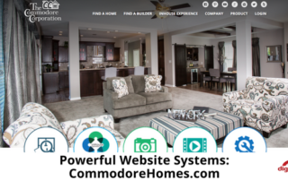 Powerful Website Systems: CommodoreHomes.com - 315