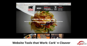 Website Tools that Work- CorknCleaver - 600