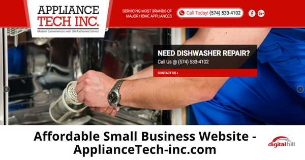 Affordable Small Business Website - ApplianceTech-inc.com-315