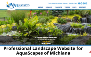 Professional Landscape Website for AquaScapes of Michiana-315