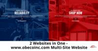 2 Websites in One - www.obecoinc.com Multi-Site Website-315