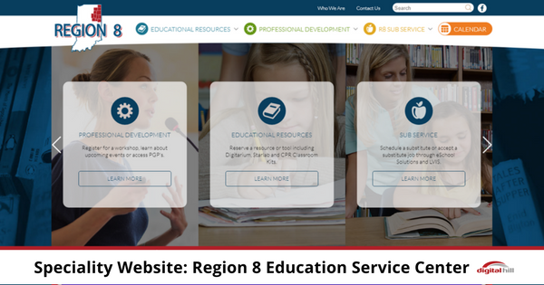Speciality Website- Region 8 Education Service Center 600