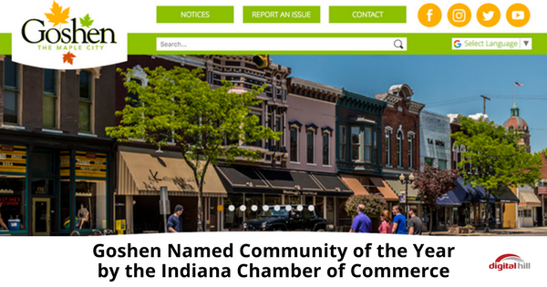 Goshen Named Community of the Year by the Indiana Chamber of Commerce-315