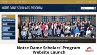 Notre-Dame-Scholars-Program-Website-Launch-700