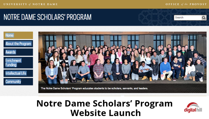 Notre-Dame-Scholars-Program-Website-Launch-700