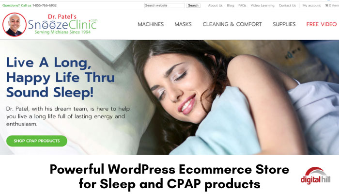 Powerful-WordPress-Ecommerce-Store-for-Sleep-and-CPAP-products