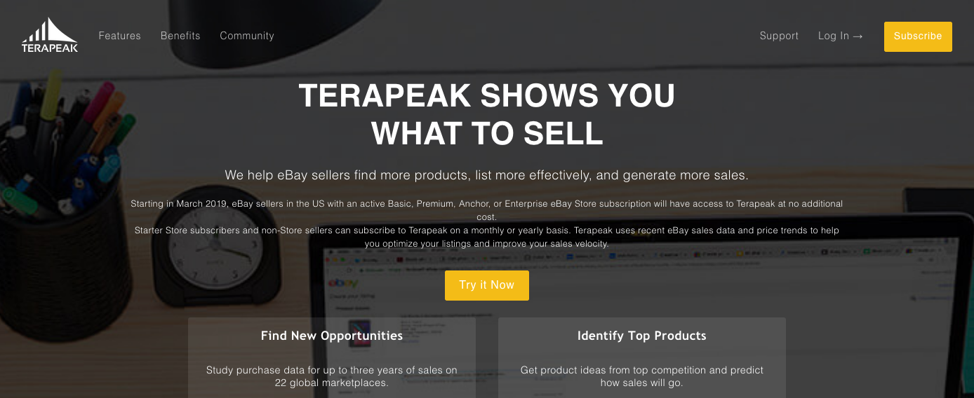 How To Find Hot Items To Sell On Ebay Using Terapeak Digital Hill