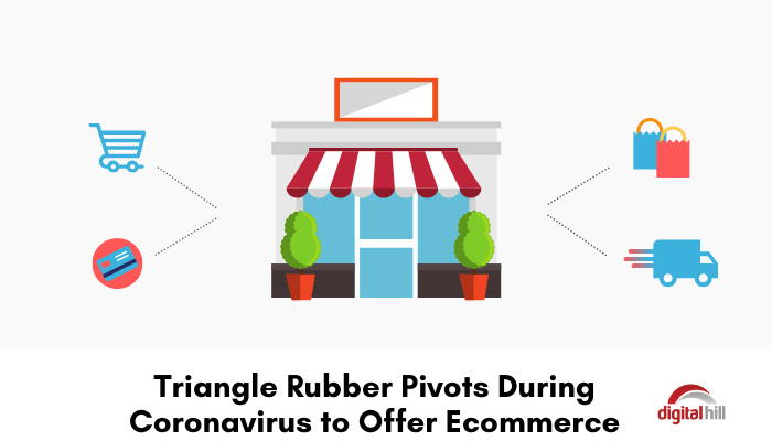 Triangle Rubber Pivots During Coronavirus to Offer Ecommerce.