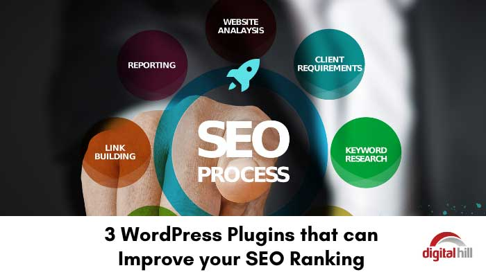 Improve your SEO Ranking with 3 WordPress plugins.