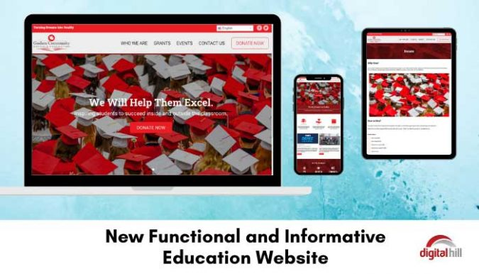 New-Functional-and-Informative-Education-Website.