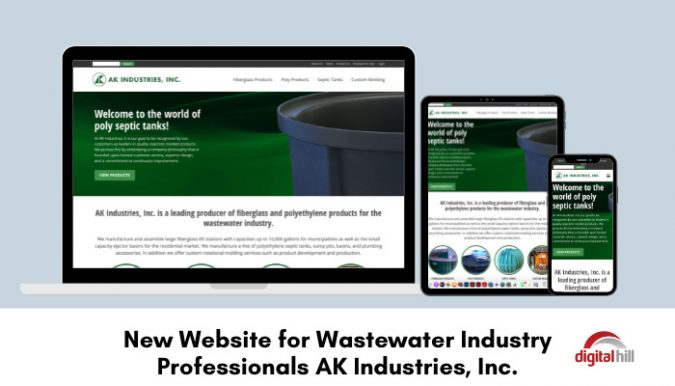 New-Website-for-Wastewater-Industry-Professionals-AK-Industries-Inc